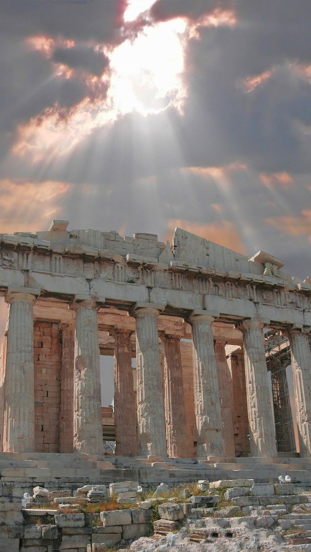 All about Greece: 40 Gorgeous Wallpapers - noupe   Ancient Greece Wallpaper Designs