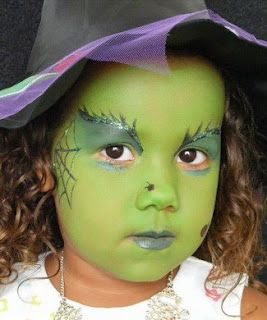 Maquillaje Bruja Maquillaje Infantil Pinterest Maquillaje - Maquillaje-bruja-para-nia