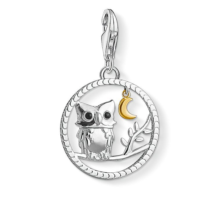 Charm Pendant Night Owl 1392 427 11 Thomas Sabo Charms Thomas Sabo Charm Pendant