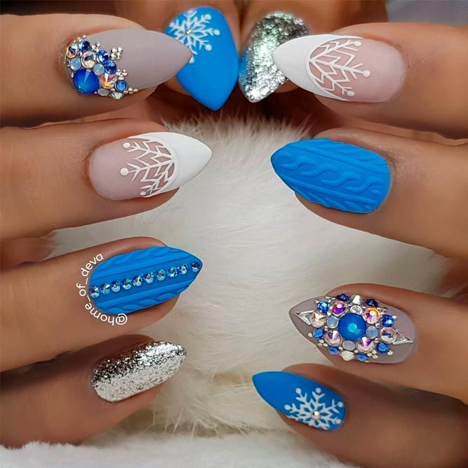 42 Popular Ideas Of Christmas Nails Designs To Try In 2018 Nail