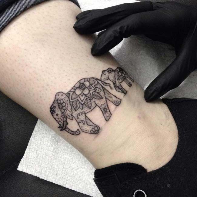 200 Meaningful Elephant Tattoos An Ultimate Guide: Fil Dövmeleri / Elephant Tattoos