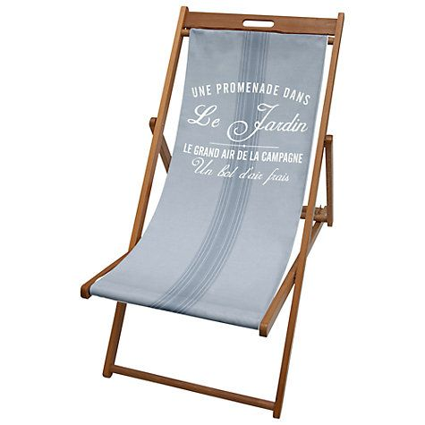 john lewis maison stripe deckchair sling pinterest deck chairs