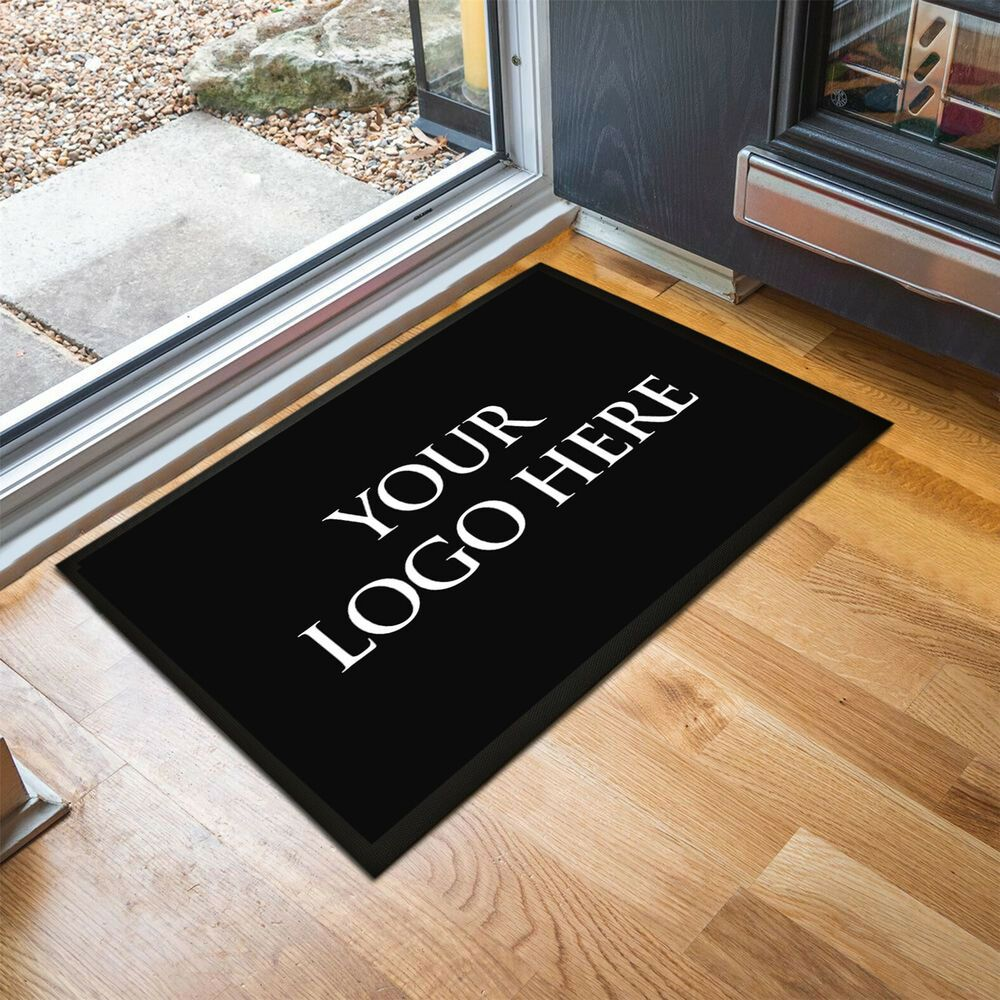 Personalised with your business logo 60 x 40 cm indoor mat