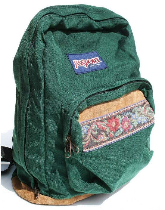 ed21e7f6409d Jansport (vintage ) Jansport (vintage ) Hippie Backpack ...
