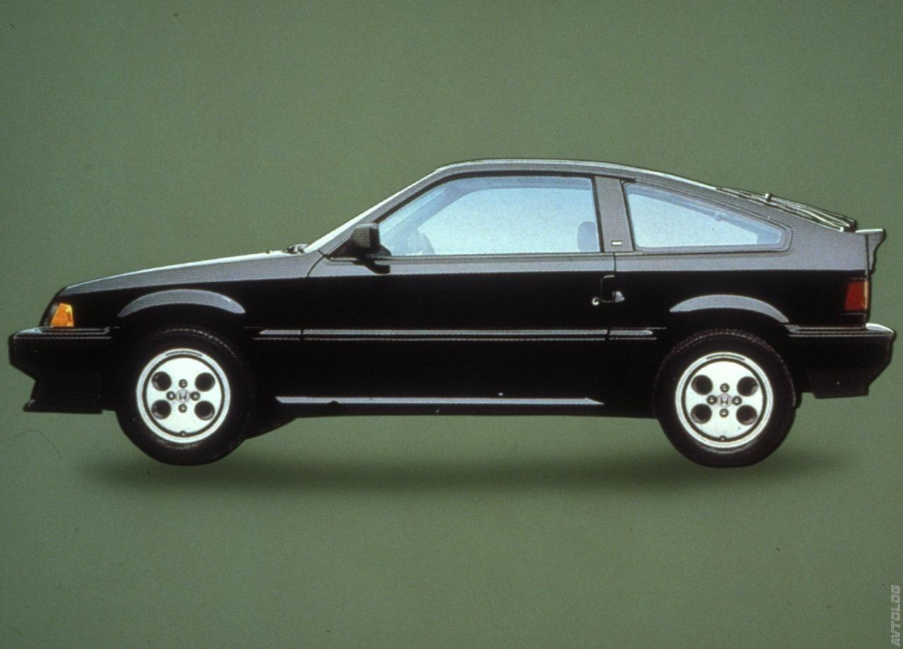 1986 Honda Civic CRX Si