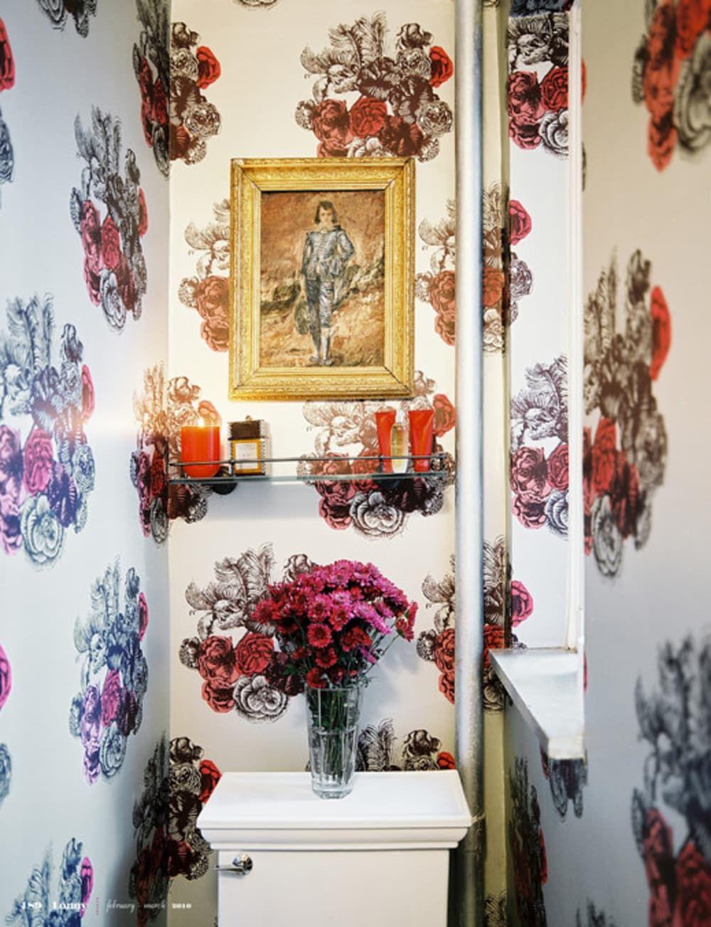 Small Bathroom Ideas 6 Room Brightening Tips For Tiny Windowless Bathrooms Windowless Bathroom Half Bathroom Decor Small Bathroom