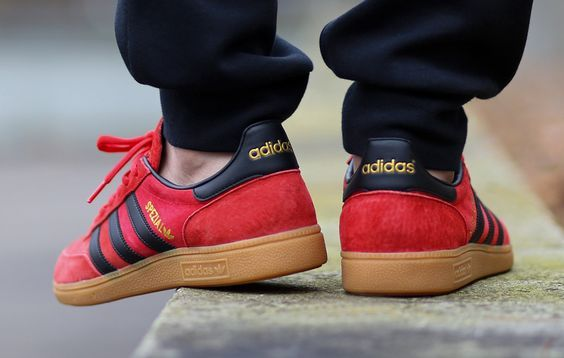 online store 6f031 7fad1 Adidas Spezial Red Black and Gum adidas adidaszxflux adidasvintage  vintage adidassneakers adidasspezialhandball adidasspezialadidasspezialmunchen  ...