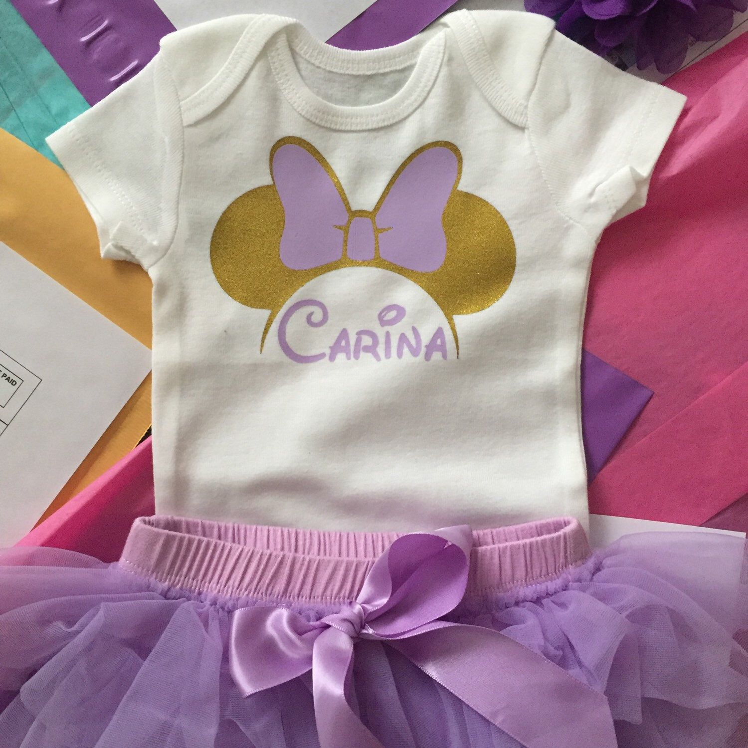 cb4af3002fde Personalized Minnie outfit