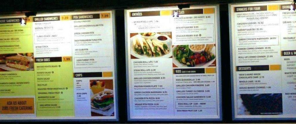 Why You Should Not Go To Zoes Kitchen Menu Nutrition Zoes Kitchen Menu Nutrition Zoes Kitchen Best Fast Food Kid Desserts