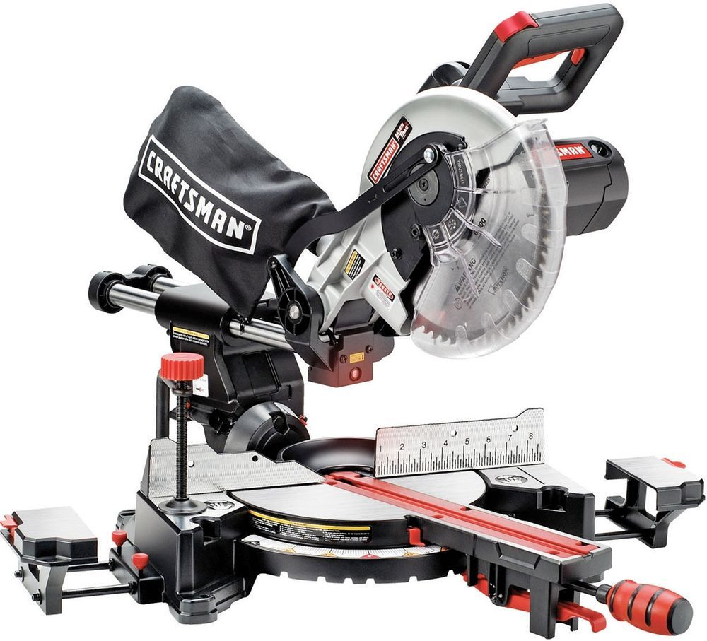 10inch Single Bevel Sliding Compound Miter Saw Home Garage Repair Must Have Tool Sliding Compound Miter Saw Compound Mitre Saw Sliding Mitre Saw