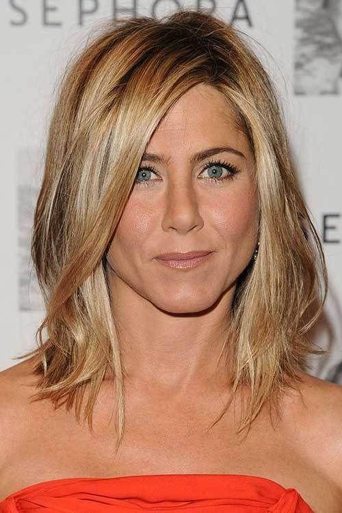 20 Jennifer Aniston Long Bob Medium Hair Styles Bob Frisur Rachel Haarschnitt Jennifer Aniston Haar