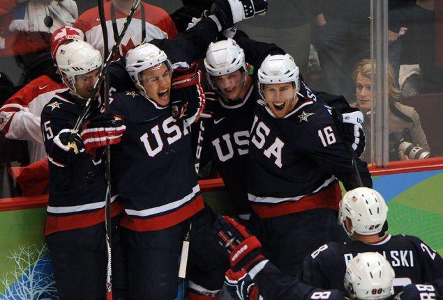 Team Usa Olympic Hockey Jersey History 1920 2010 The United States Olympic Hockey Team Usa Olympics Team Usa Hockey