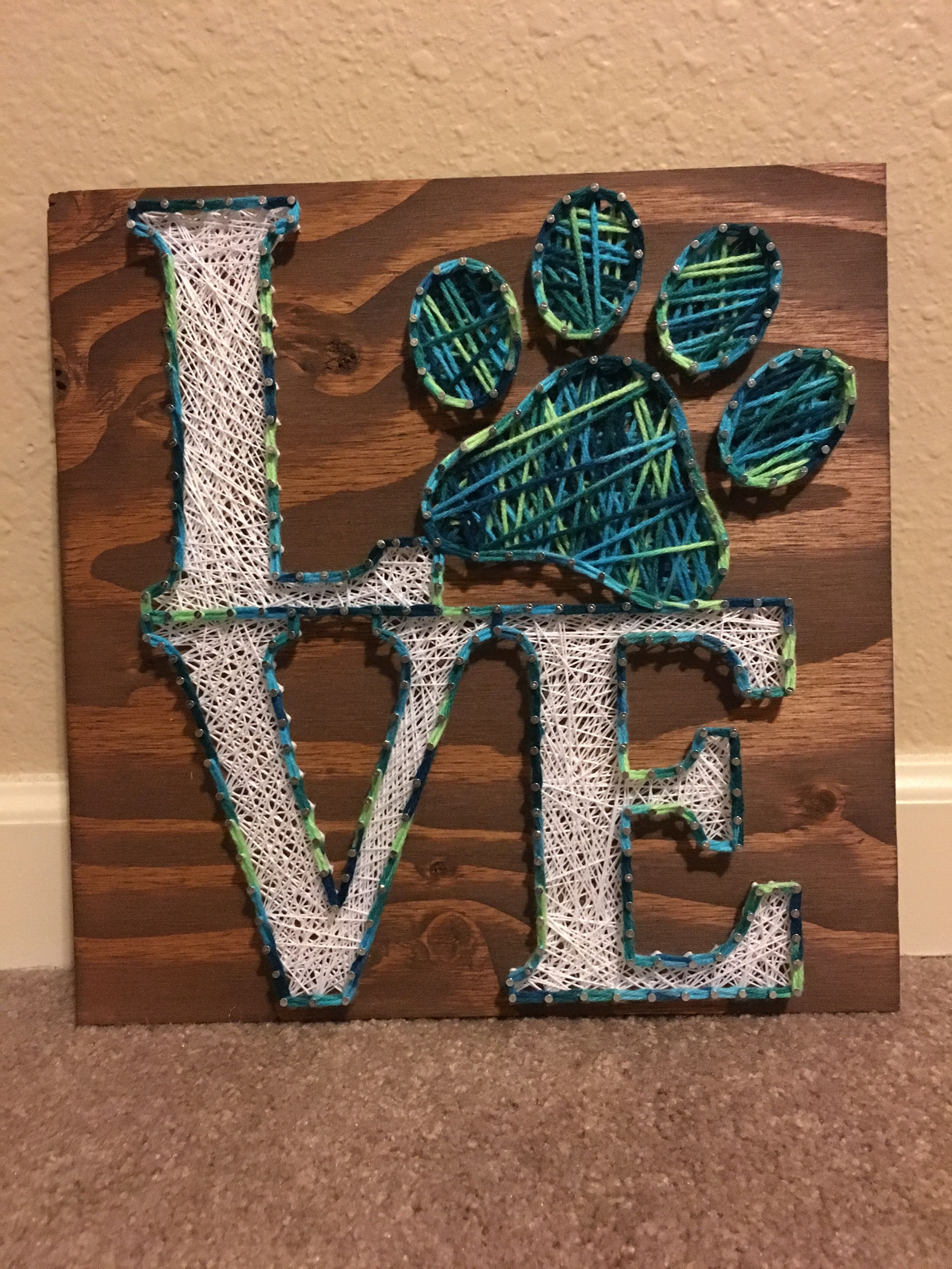 Love String Art Love String Art