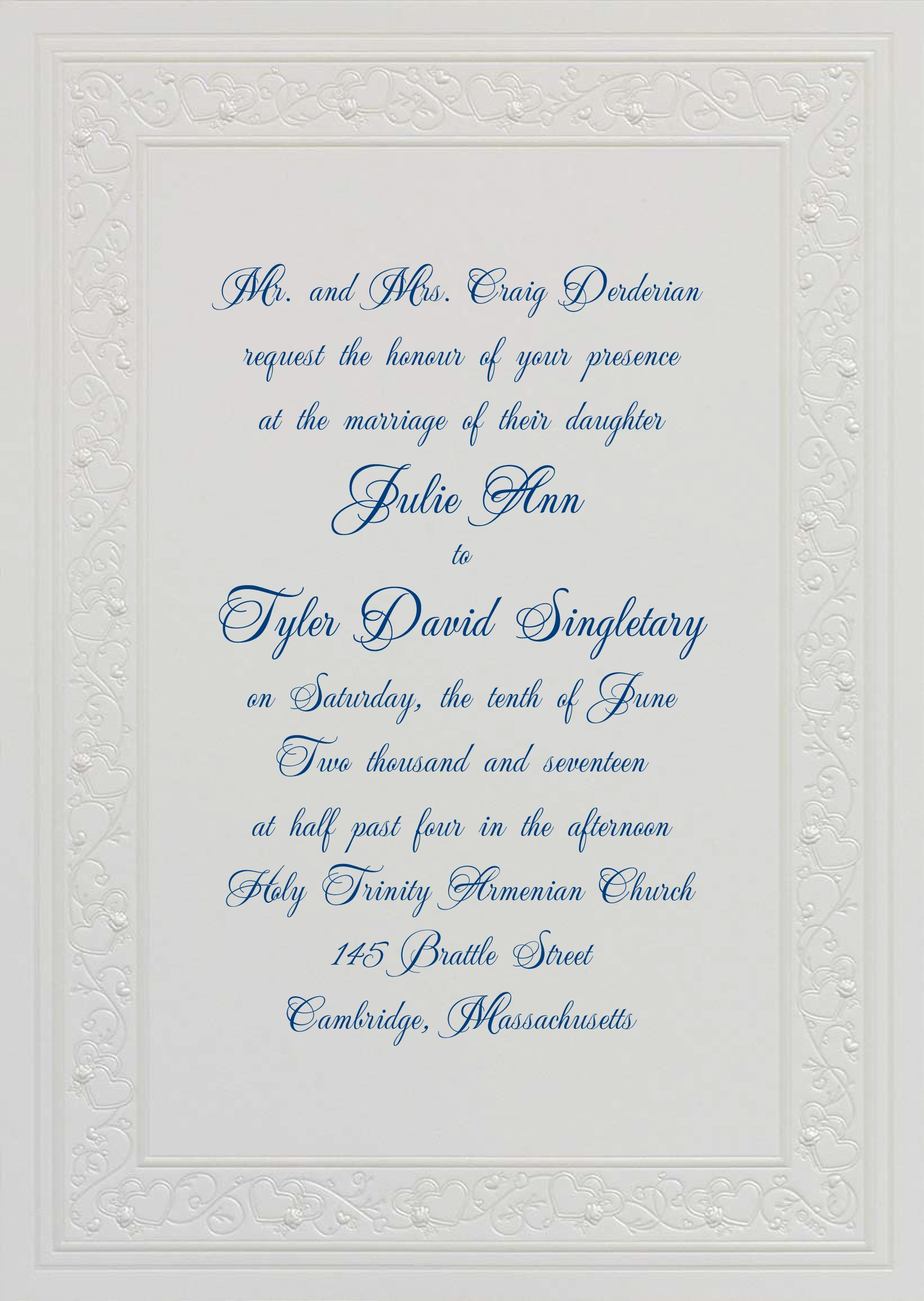 Beautiful Embossed Paper For Wedding Invitations Images 50pcs Pack