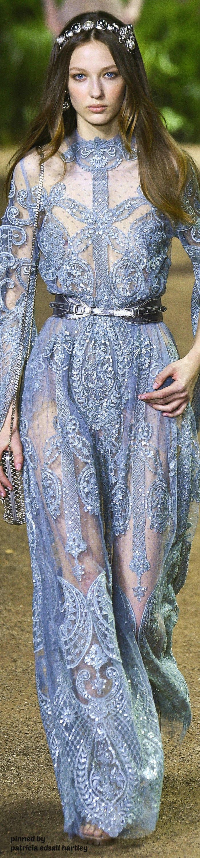 Elie Saab Spring 2016 Couture Fashion Show | Elie saab couture ...
