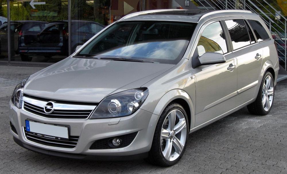 Opel Astra H Caravan 1 9 Cdti Front List Of Opel Vehicles