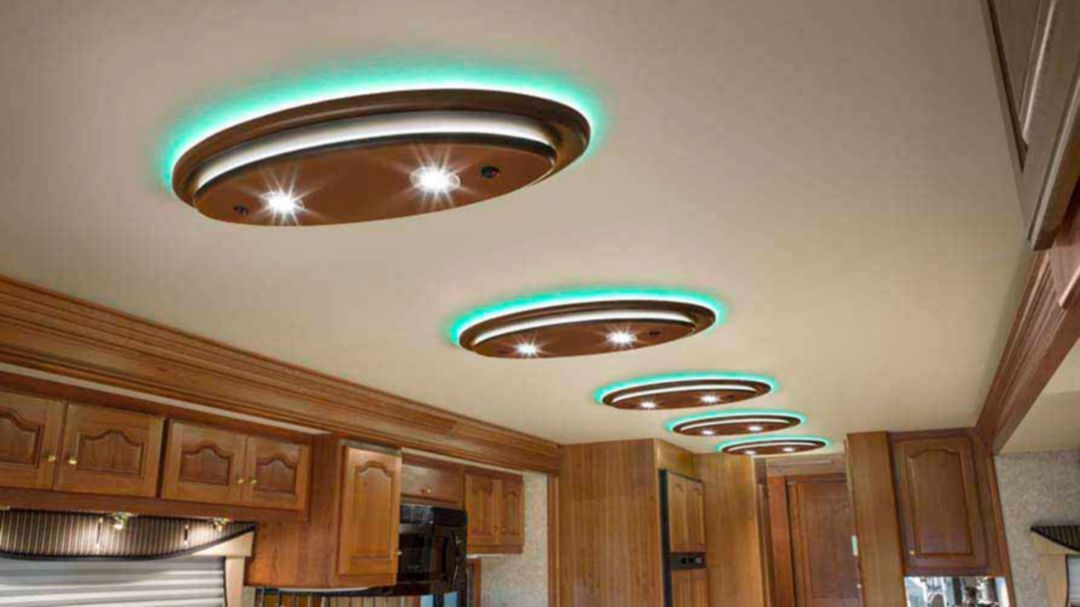 25 Stunning Rv Ceiling Design With Light That Will Make Your Rv Interior Awesome Smart Rv Decorative Ceiling Lights Rv Interior Ceiling Lights