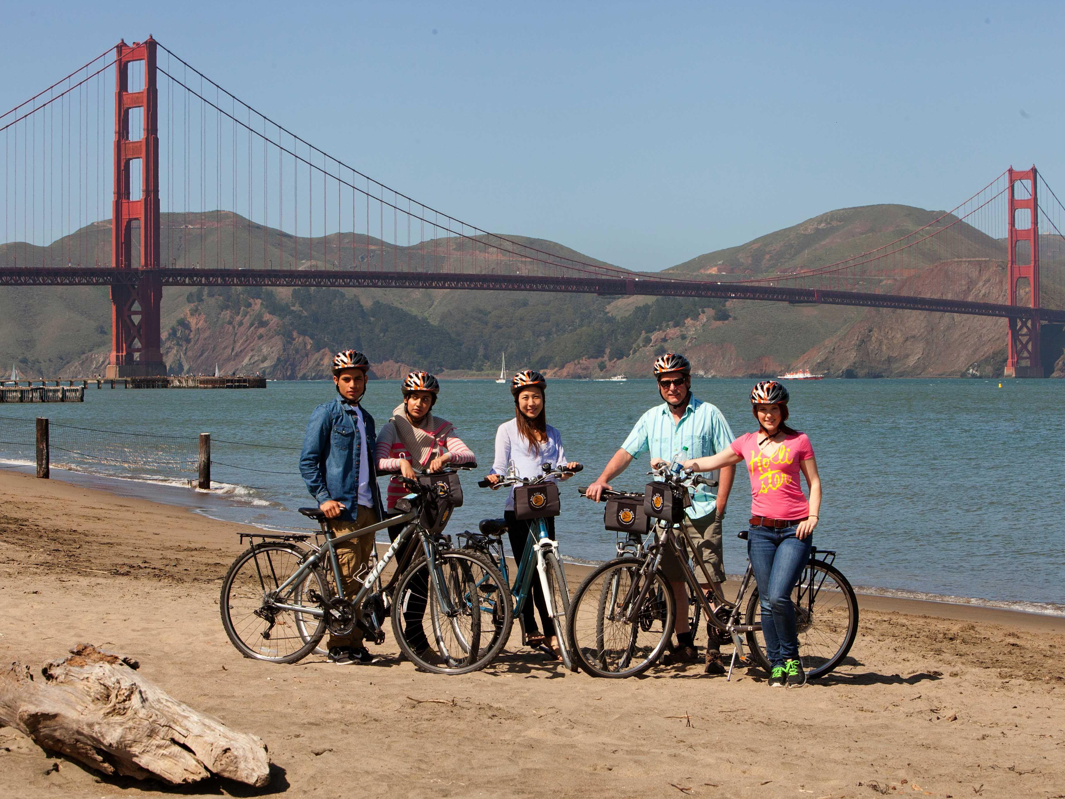 Bike the Dolden Gate Bridge