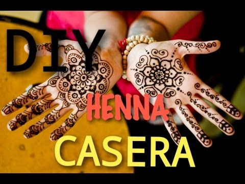 Henna Caseracomo Hacer Pasta De Henna Sin Henna Y Conodiy Henna