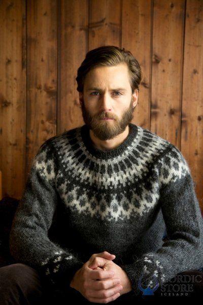 Lopapeysa (lopi sweater) I have the zippy version...I got ...