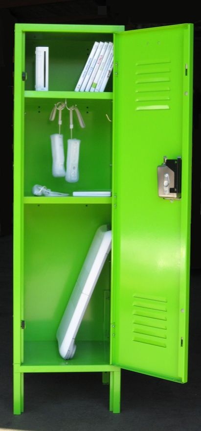 For The Game Room: Game Console Storage Locker  Used Lockers