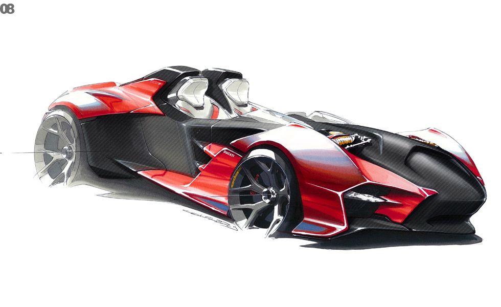 Ducati Desmo 32rr Car Design Sketches Pinterest Ducati Desmo