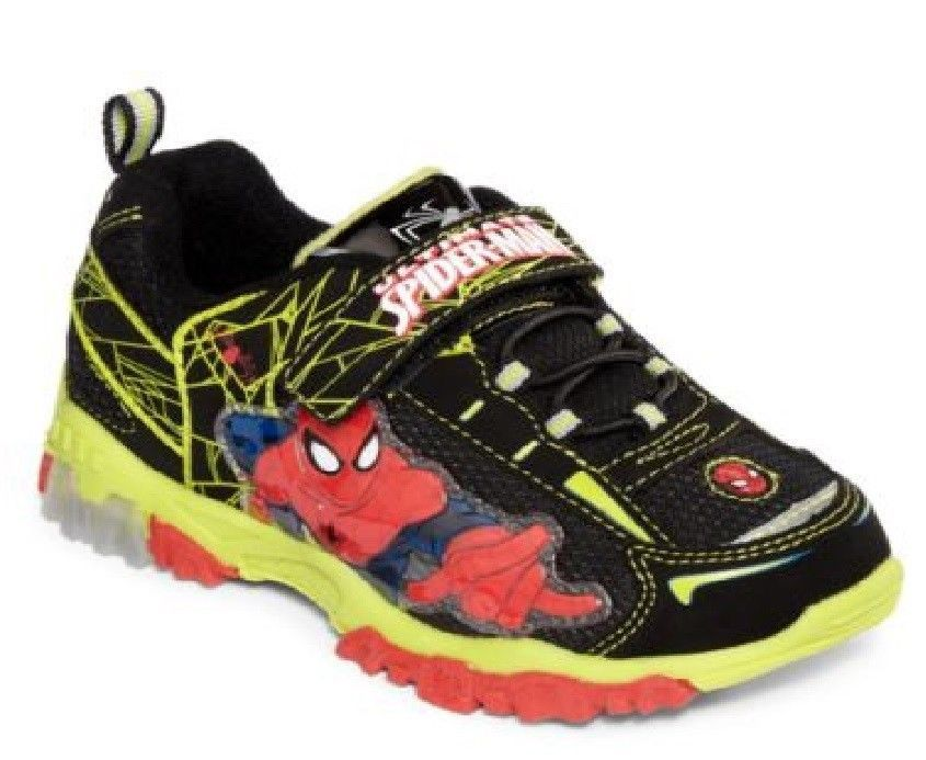 Marvel Spiderman Boys Athletic Shoes