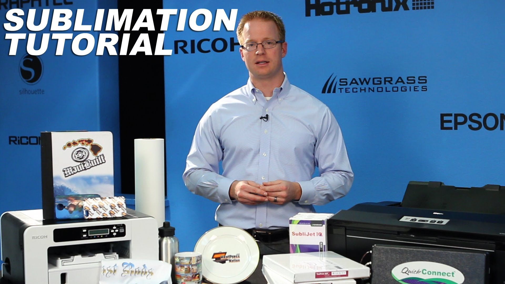 Tutorial Sublimation Printing And Supply Overview
