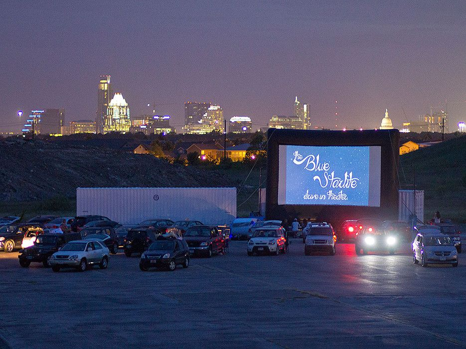The Coolest Outdoor Movie Theaters Around The World Drive In