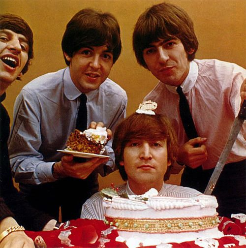 """""""Why Yes Paul, I Will Have A Slice"""" Happy Birthday"""