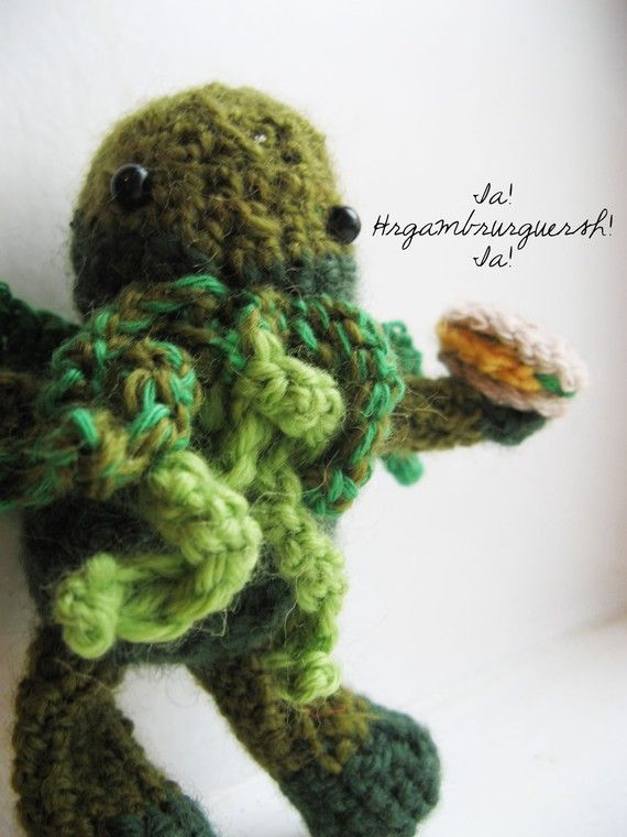 Amigurumi Cthulhu Crochet Pattern By The Sun And The Turtle Http