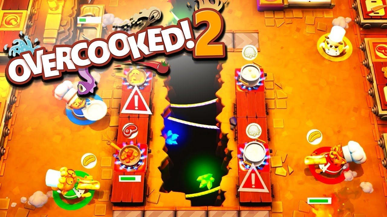SHADOW HAS ENTERED THE KITCHEN! Overcooked 2 with The
