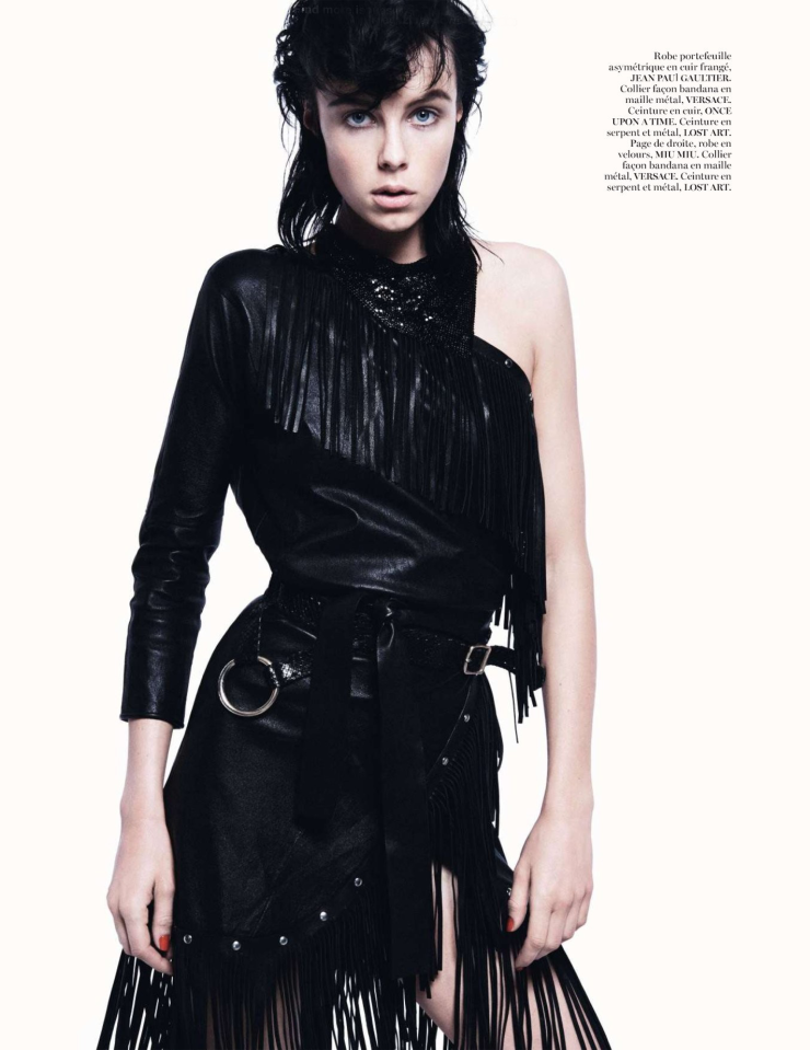 Edie Campbell by David Sims for Vogue Paris February 2014