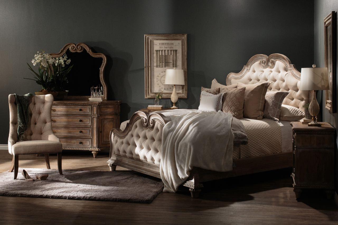 Arabella by Pulaski Upholstered beds, Panel bed, Bed