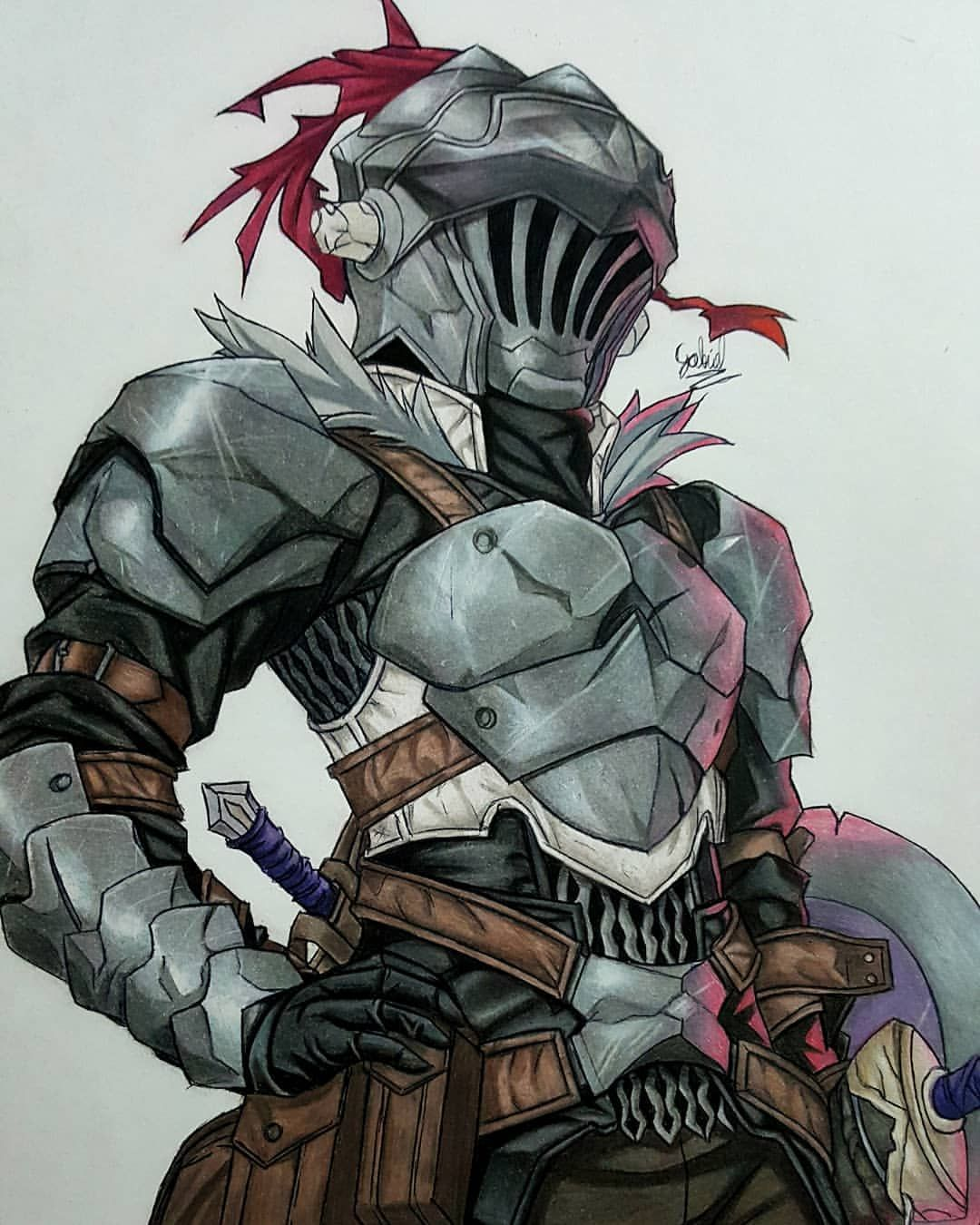Goblin Slayer Art By Godssoni Goblin Slayer Anime Art Drawing