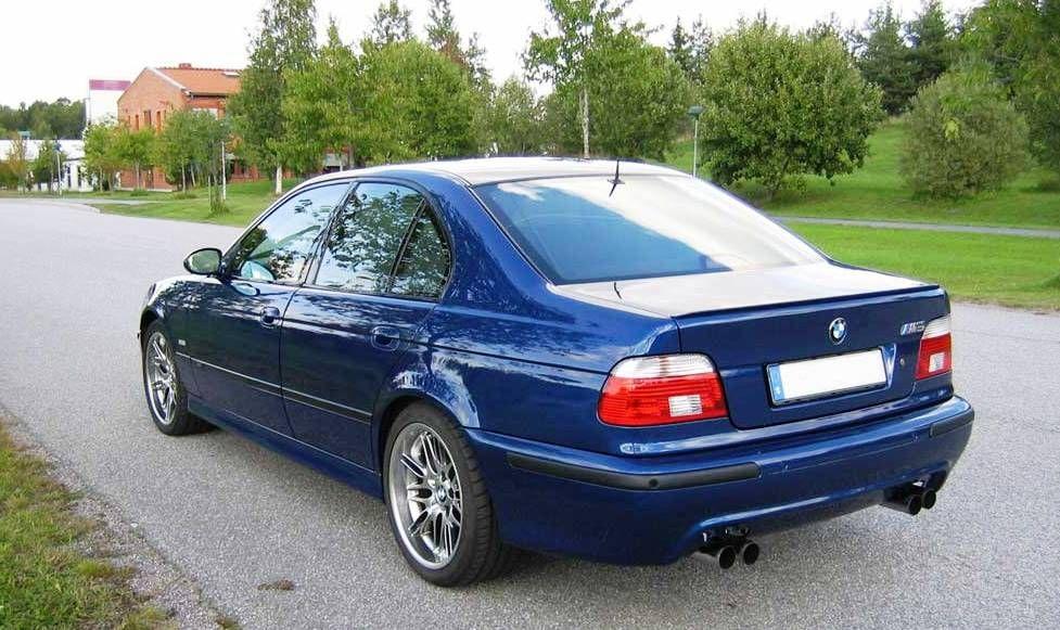 Bmw E39 M5 Blue With Shadowline Trim With Images Bmw Bmw E39