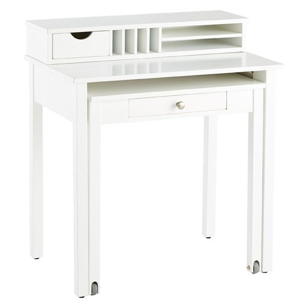 Our Handsome Solid Wood Roll Out Desk Is A Great Solution For High