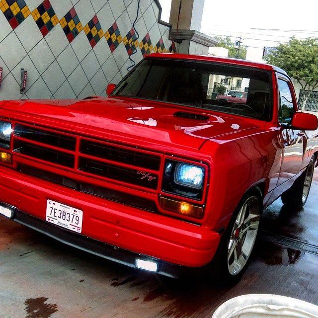 Sweet Modern Upgrades On The Dodge Pickup Lookin Like A Vintage R T Option Package Dodge Trucks Dodge Trucks Ram Dodge