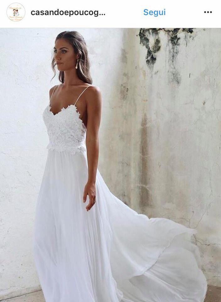 Vestiti Da Sposa Spiaggia.Abiti Da Sposa 2019 Tendenze Da Seguire Wd Abiti Da Sposa