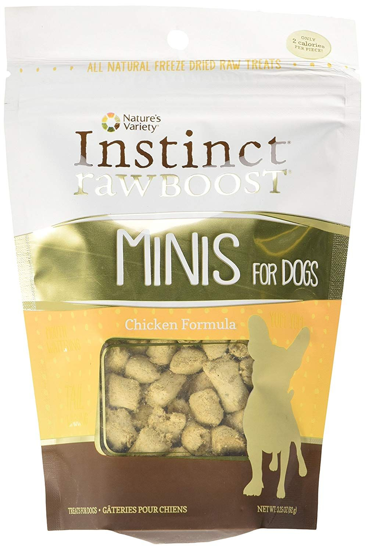 Natures variety instinct raw boost grain free formula