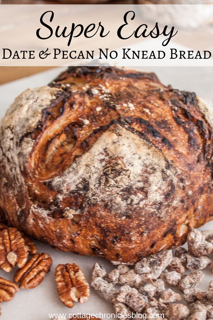 Photo of Easy Date & Pecan Artisan Bread that anyone can make – Cottage Chronicles