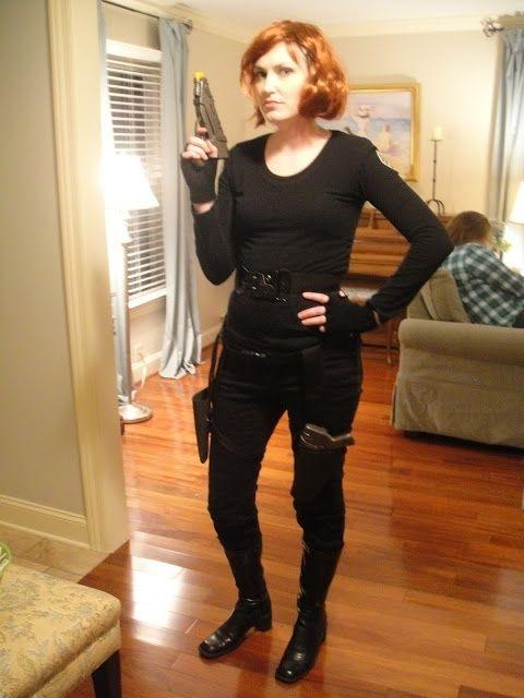 Black Widow from The Avengers: | Black widow costume ...