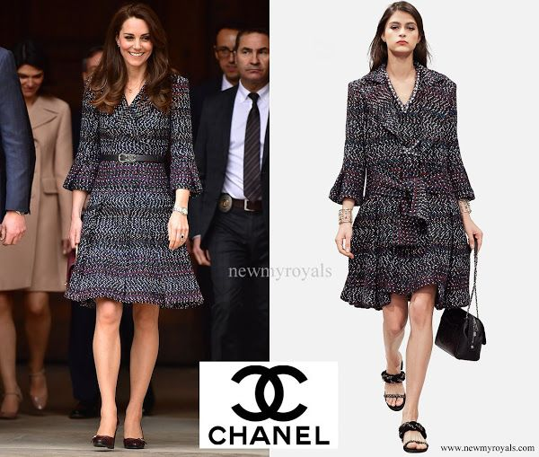 dd9e63685836 Kate wore it better! Impeccably tailored, with elegant accessories ...