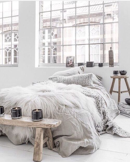 home white bedroom chambre baie boheme boho chic ethnique blanc couleurs claires chambres. Black Bedroom Furniture Sets. Home Design Ideas