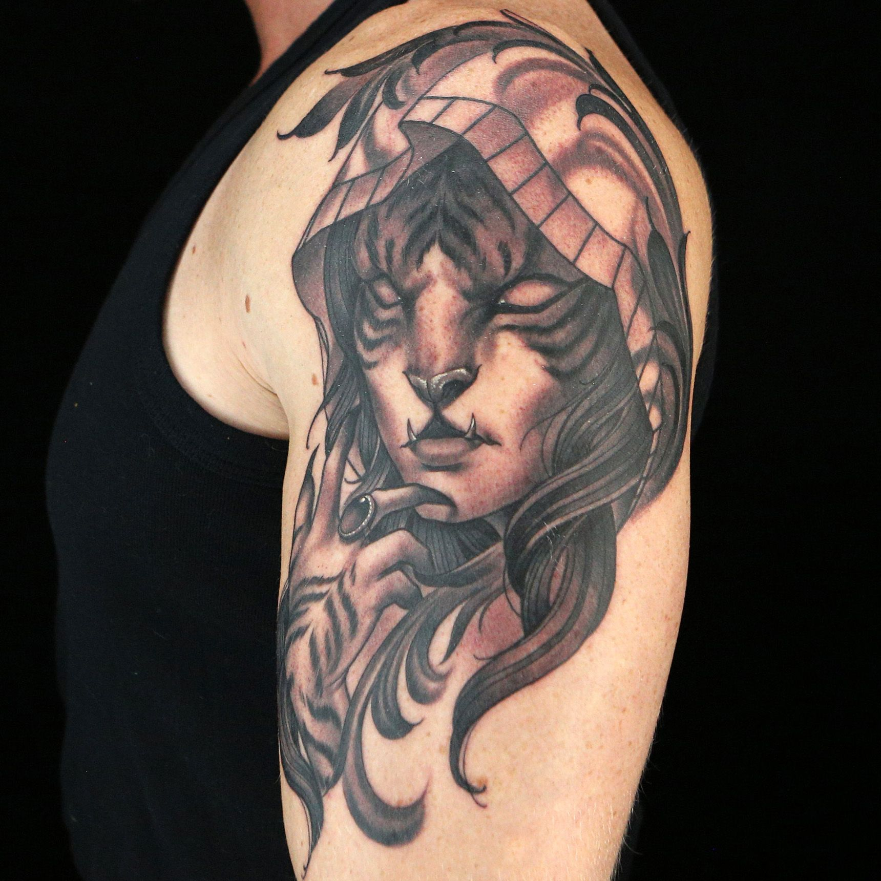 Tattoo by Anthony Michaels (With images) Ink master