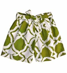 Revive fair trade boutique in Ohio...I just bought these lovely cotton shorts that were made at a cooperative in Africa that provides sustainable livelihoods for women while preserving the artistry of batik, an ancient handmade fabric art that is traditionally passed down from mother to daughter.