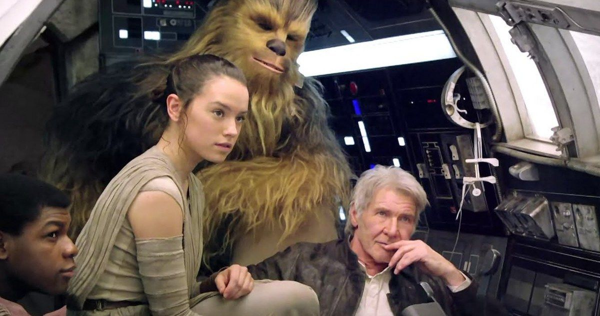 'Star Wars: The Force Awakens' Video Offers Amazing Behind-the-Scenes Look -- Director J.J. Abrams gave the Hall H Comic-Con crowd a behind-the-scenes glimpse at the 'Star Wars: The Force Awakens' production. -- http://movieweb.com/star-wars-the-force-awakens-comic-con-video/