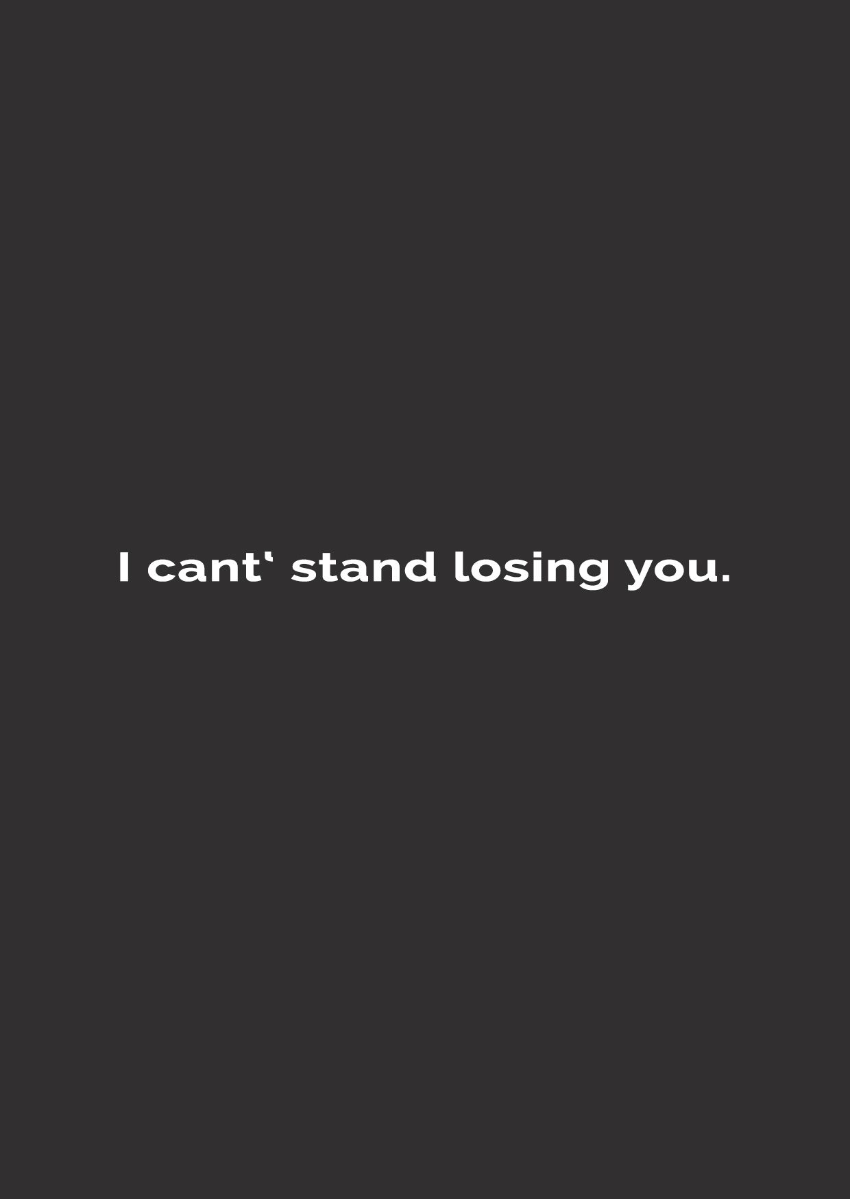 I Can T Stand Losing You The Police