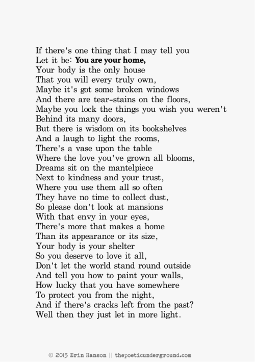 your home you re home thepoeticunderground com poem poetry