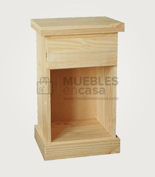 Mesa de luz para sommier | Muebles de Pino con Envío Gratis ...